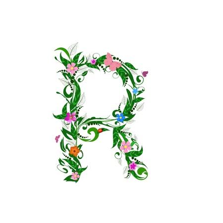 Cover letter flower Stock Vector - 9718979