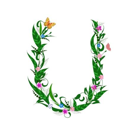 Cover letter flower Stock Vector - 9718980