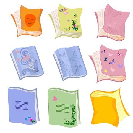 book school notebook Vector