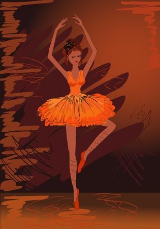 painted ballerina