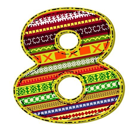 thread count: figure ornament ethnic