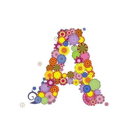 letter of arabesques Illustration