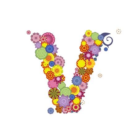 letter of arabesques Vector
