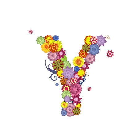 letter of arabesques Stock Vector - 11040929