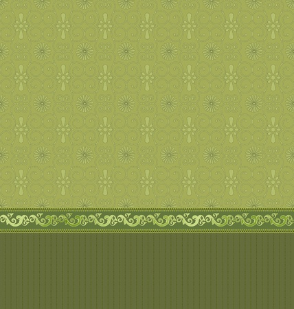 vintage wallpaper with arabesques Vector