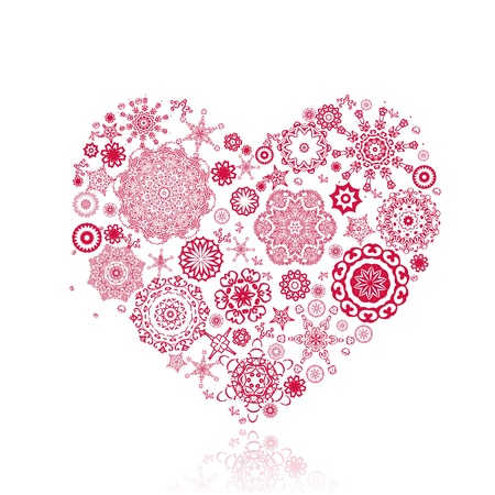 vintage valentine from arabesque Stock Vector - 11994142