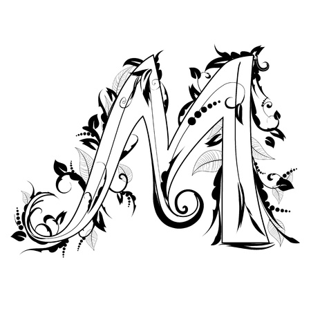 brisk: letter of the foliage Illustration