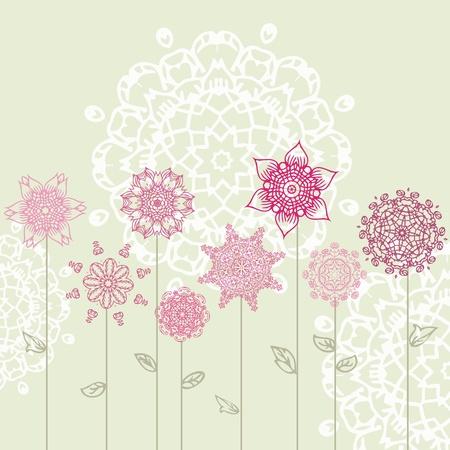 arabesque: dise�o floral con arabescos Vectores