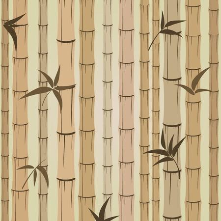 bamboo stick: background of bamboo Illustration