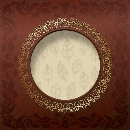 Vintage design background Vector