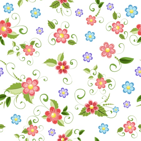 Textuur naadloze bloemen