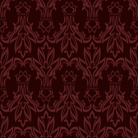 vintage wallpaper retro seamless Vector