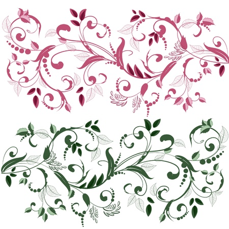 plant ornament  for your design Stock Vector - 16787507