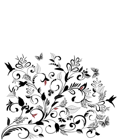 plant ornament  for your design Stock Vector - 16787504