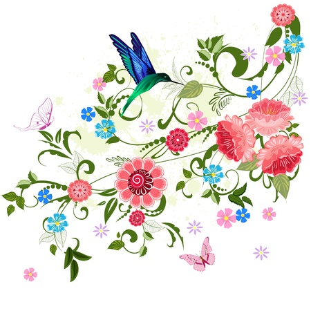 floral ornament  for your design Stock Vector - 16787508
