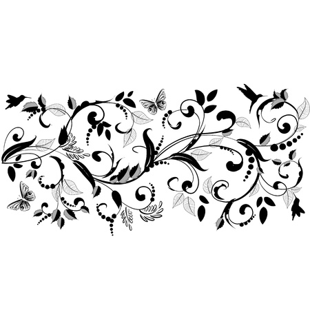 plant ornament  for your design Stock Vector - 16787502
