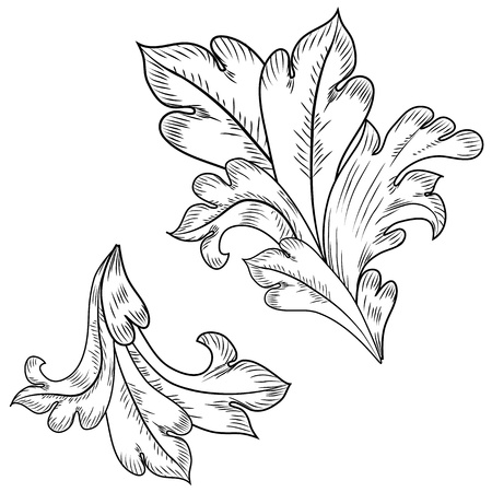 style: Baroque design elements