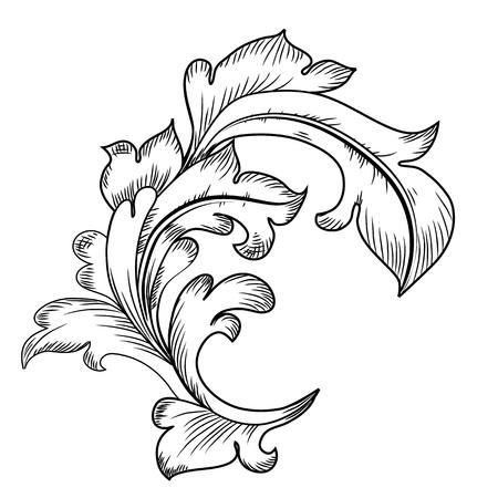 Baroque design elements