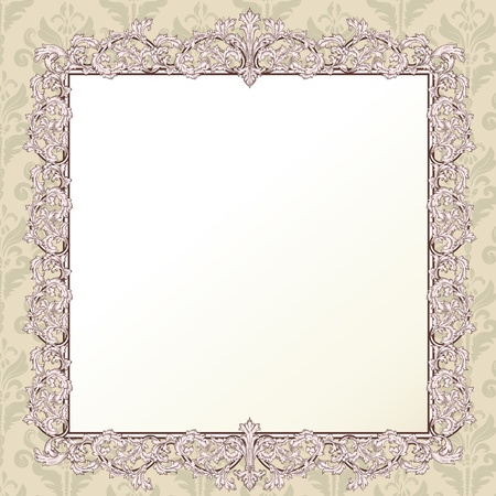 Vintage frame for your design Stock Vector - 17087758