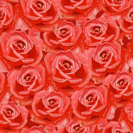 Texture senza soluzione di continuità di rose