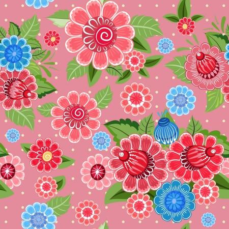 Flower texture seamless Stock Vector - 17550913