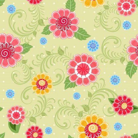Flower texture seamless Stock Vector - 17550904