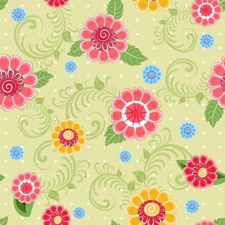 Flower texture seamless Stock Vector - 17550904