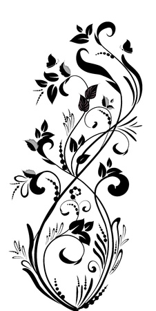 fancy foliage Stock Vector - 17550897