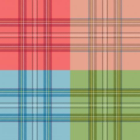 Scottish cell seamless set Stock Vector - 17550929