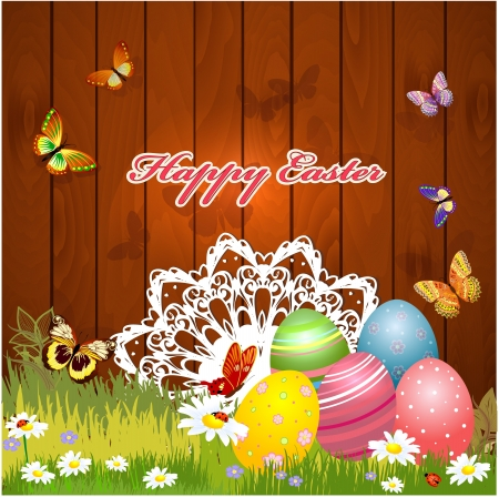 greeting card for Easter Stock Vector - 17989492