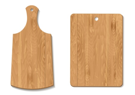 domestic kitchen: cutting Board Illustration