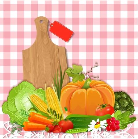corn flower: Juicy vegetables for your design