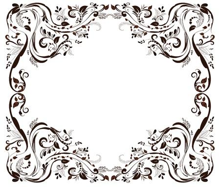 foliar: Vintage foliar frame