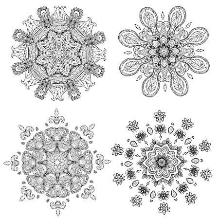 mandala for your design Vector