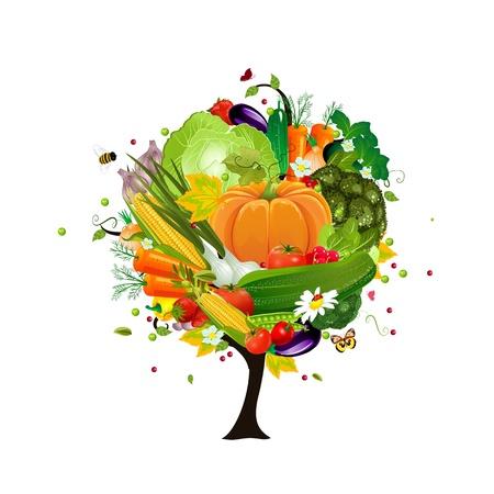 tomate de arbol: vegetal árbol decorativo