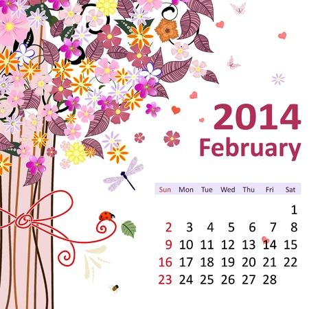 fashion week: Calendar for 2014, february