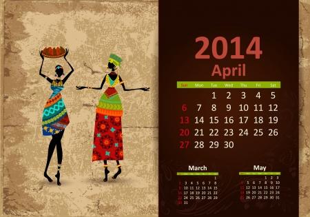 fashion week: Ethnic Calendar 2014 april