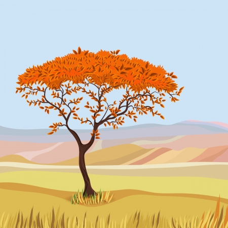 idealistic: Mountain idealistic natural landscape