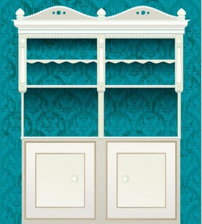 wardrobe: retro vintage sideboard