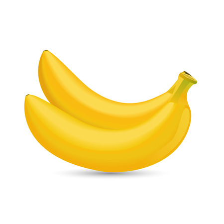 two bananas Vector