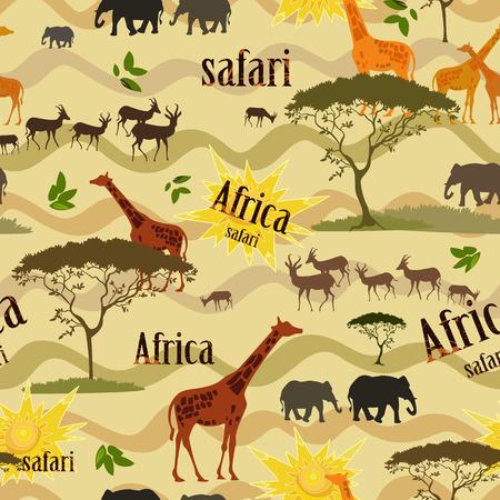 Ethnic African seamless texture Vector
