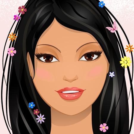 Portrait of a lovely girl