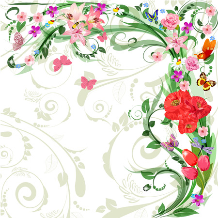 floral pattern for your design Vector