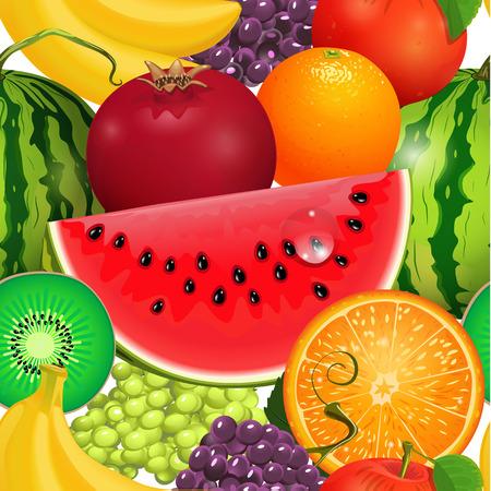 seamless texture juicy fruit