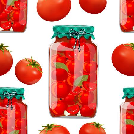 conserve: texture transparente avec pr�server la tomate
