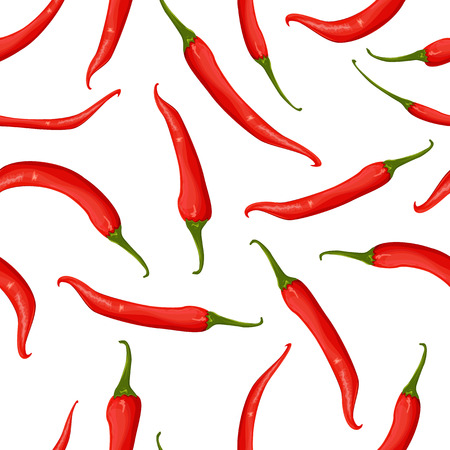 chilly: seamless texture of hot pepper