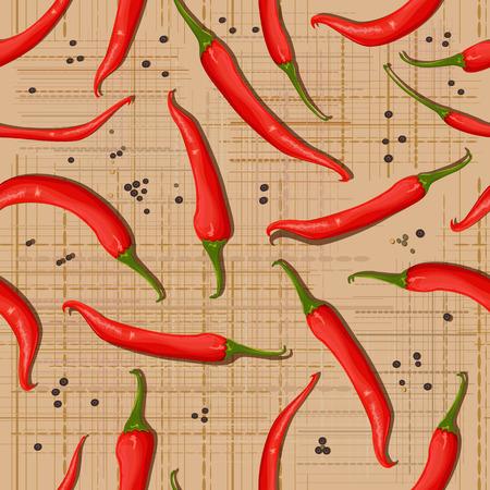 canva: seamless texture of hot pepper