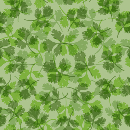 seamless texture of parsley   Vector