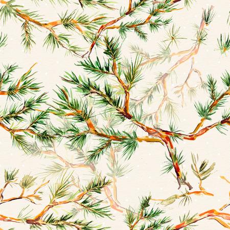 nature seamless texture watercolor Archivio Fotografico