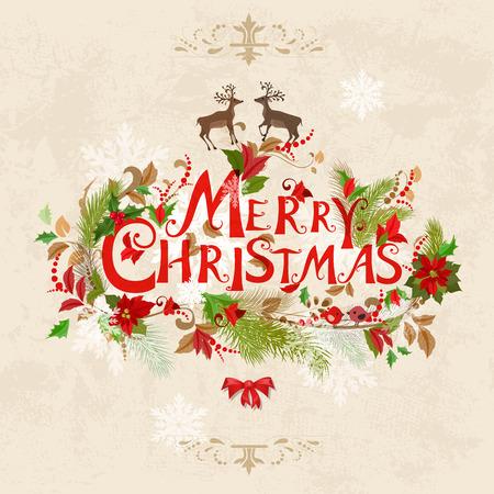 adornos navide�os: Tarjeta de Navidad
